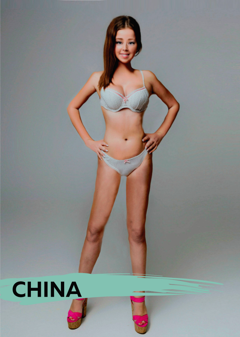 Here's what the ideal woman's body looks like in 18 countries, so you can decide where to live.