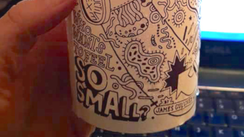 A mom shared what she thinks is an explicit sexual message on a Chipotle cup.