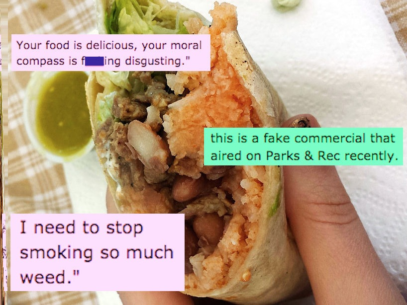 A very stoned man wrote Chipotle a very angry letter, and received the best customer service reply ever.