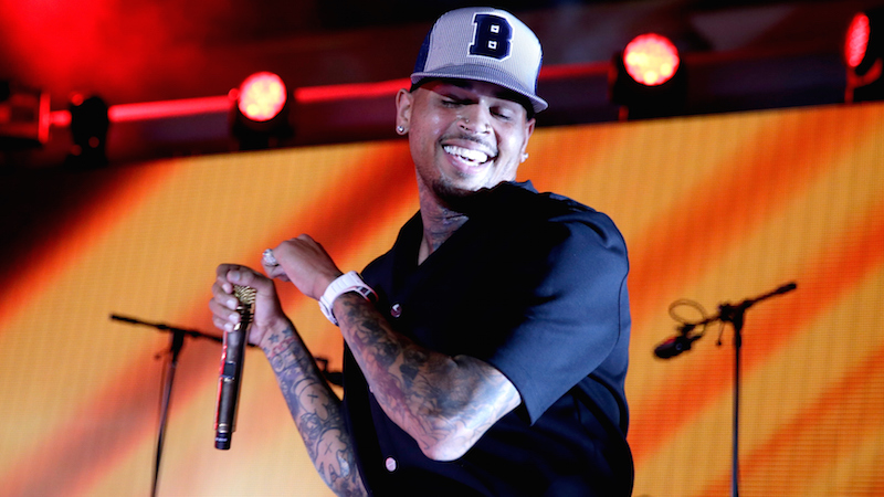 Chris Brown skips out on gay pride event, makes himself even less popular.