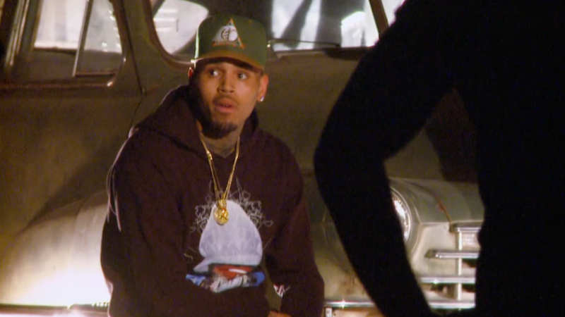 Chris Brown got Punk'd and the only problem is that it doesn't happen every day.