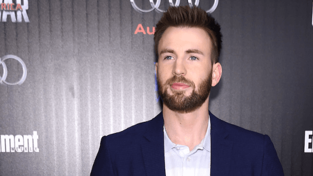 Chris Evans reunited with his dog, and the Internet is in love.