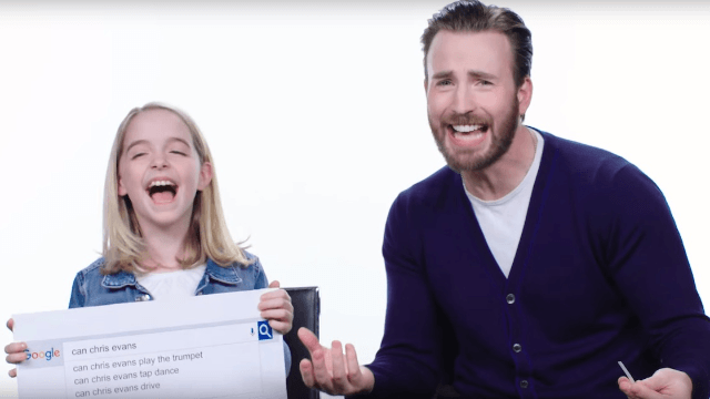 Chris Evans answers the most Googled questions about him.