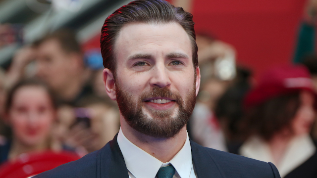 Chris Evans destroyed the men behind the 'straight pride' parade. Captain America to the rescue.
