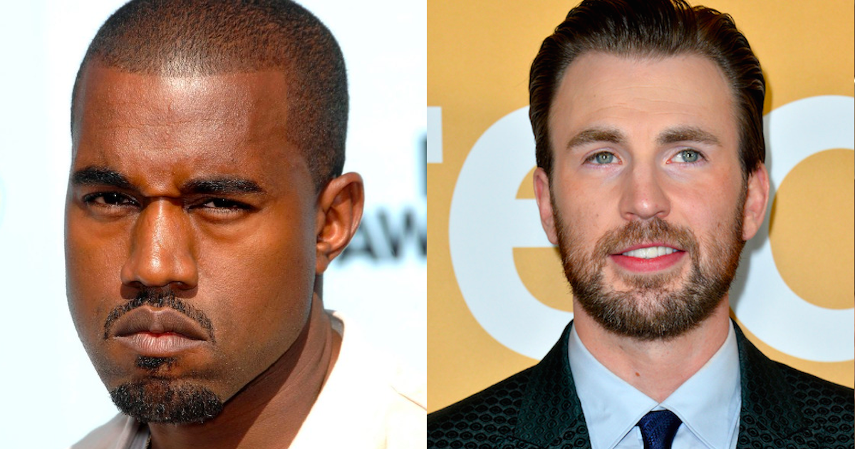 Chris Evans threw major shade at Kanye West for his MAGA rant. People are here for it.