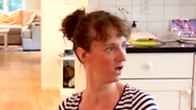 This video perfectly captures how crazed every mom gets preparing for company.