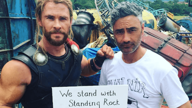 Just in time for Halloween, Chris Hemsworth reminds white people not to dress up as Native Americans.