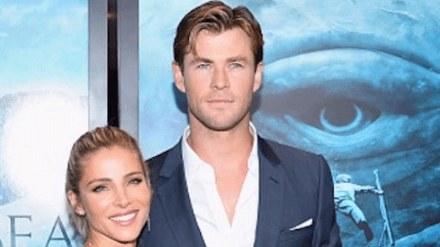 Chris Hemsworth can do pull-ups and love his wife so much better than you.