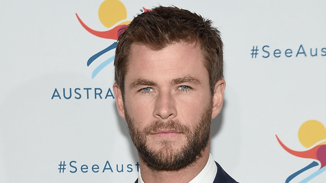 Chris Hemsworth hugs his twins in sweet Instagram that successfully shows some arm muscle.
