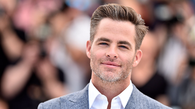Chris Pine unlocks highest level of hotness: looking fly in a fanny pack.