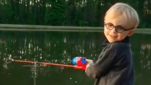 Warning: watching Chris Pratt teach his son to fish will make you ovulate.