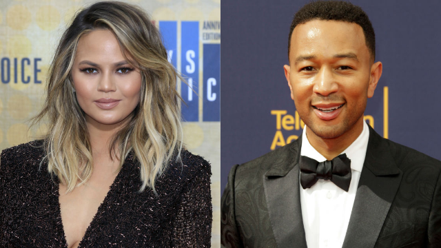 Chrissy Teigen and John Legend got matching tattoos and can't stop roasting themselves.