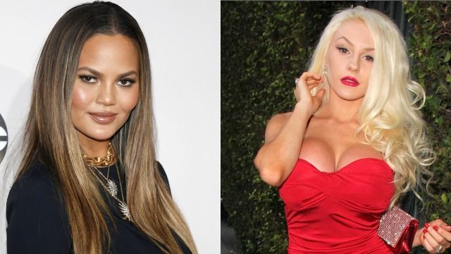 Chrissy Teigen apologizes for allegedly telling 16-year-old Courtney Stodden to die.