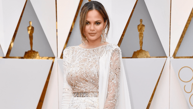 Chrissy Teigen makes beauty student's dream come true, internet weeps.