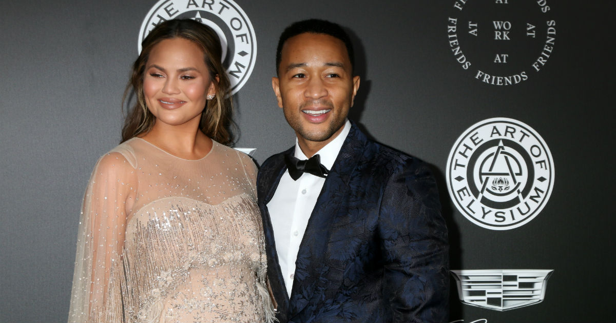 Chrissy Teigen came for John Legend after a fan shared a raunchy pic from his single days.