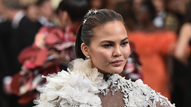 Chrissy Teigen admits to struggling with an alcohol problem: 'I have to fix myself.'