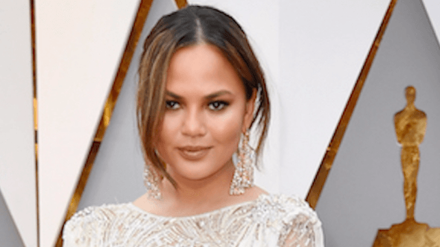 Chrissy Teigen got bangs even though Twitter told her not to.
