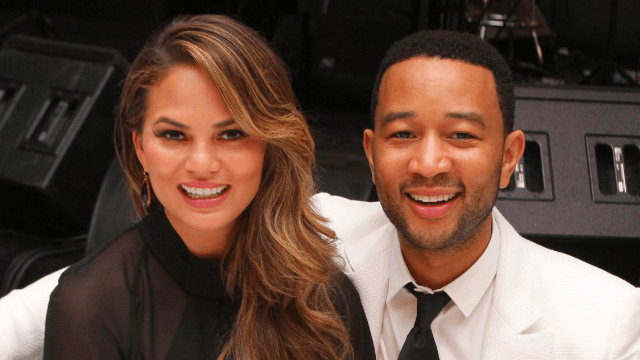 Chrissy Teigen posted photo proof that she and John Legend weren't lying about this 'baby.'