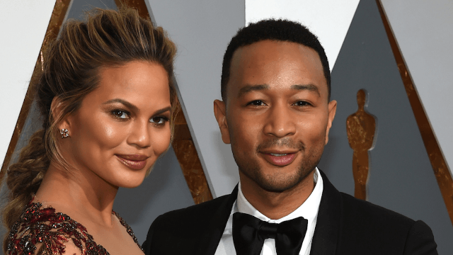 Chrissy Teigen did a face swap with John Legend so disturbing, she wanted to vomit.