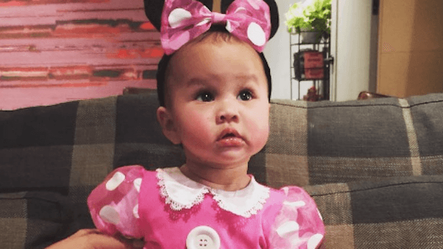 Chrissy Teigen dressed up baby Luna in a bunch of Halloween costumes and it was really cute.