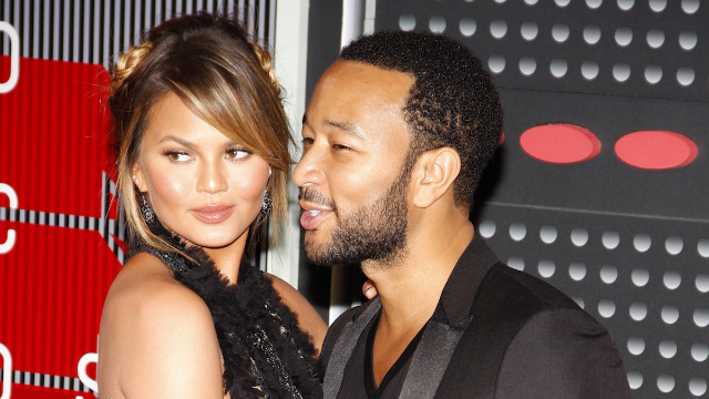 Chrissy Teigen roasts John Legend in response to fan asking why she didn't take his last name.