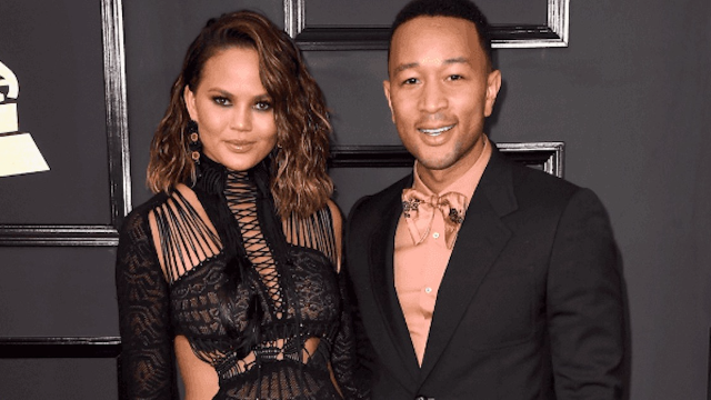 Chrissy Teigen trolls her non-baseball fan husband John Legend for being at the World Series.