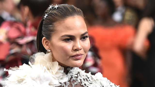 Chrissy Teigen just obliterated a troll who told her 'congrats on peaking.'