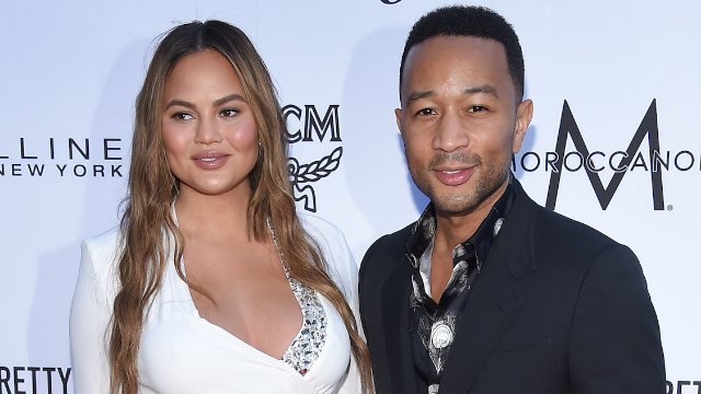 Chrissy Teigen just shared the realest post-partum photo ever and the internet exploded.