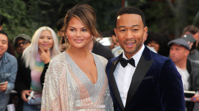 Chrissy Teigen posts screenshots of fight with John Legend after he invited 'The Voice' cast over.