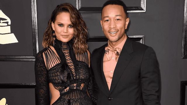 Chrissy Teigen surprised John Legend with nakedness for Father's Day.