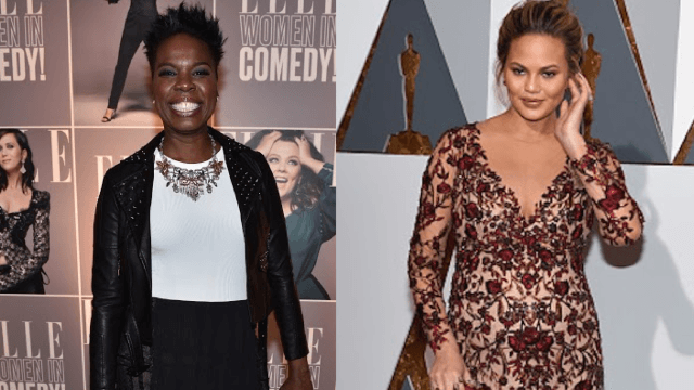 Chrissy Teigen went on a passionate rant asking Twitter to support Leslie Jones.