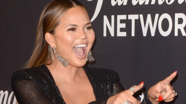 Chrissy Teigen's daughter Luna was stressed out when she got 'charged the bill' at her pretend restaurant.