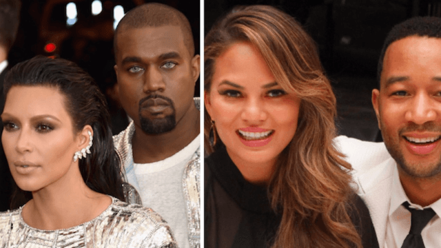 Chrissy Teigan and Kim Kardashian were both made miserable by each others' weddings.