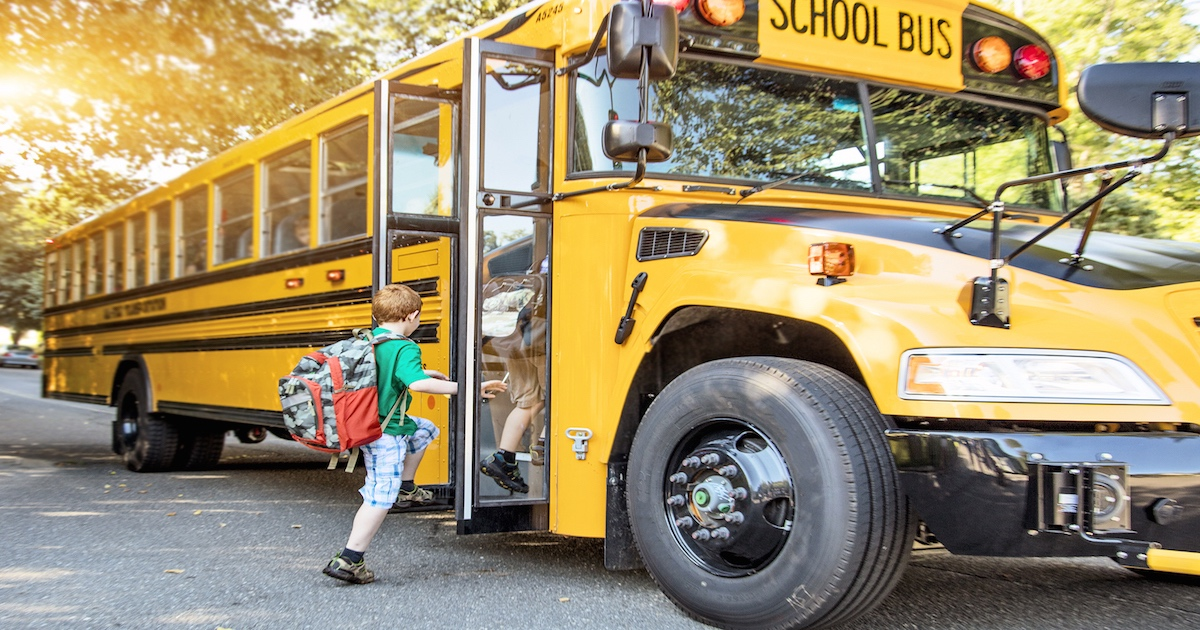 The CIA accidentally left behind explosive materials under a school bus engine hood. Oops.