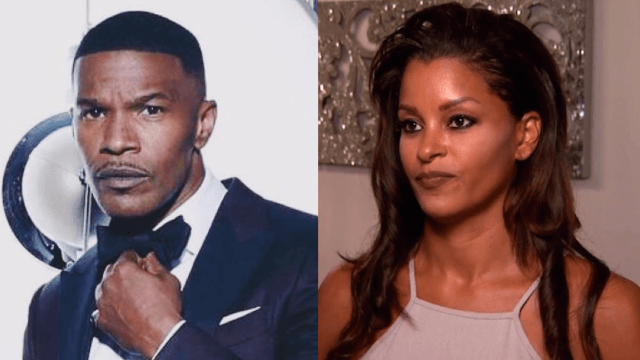 Claudia Jordan takes back her comments on Jamie Foxx and Katie Holmes. She 'misspoke.'