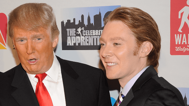 Clay Aiken SHOCKS us all with the knowledge that Trump didn't decide who got fired on 'The Apprentice.'