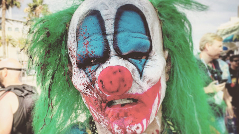 Police are looking for a clown that broke into a cemetery. Is he hiding in your nightmares?