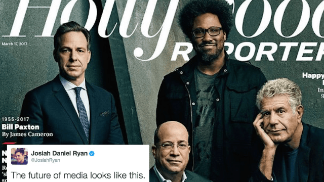 Twitter drags CNN reporter for sexist tweet about the 'future of media.'