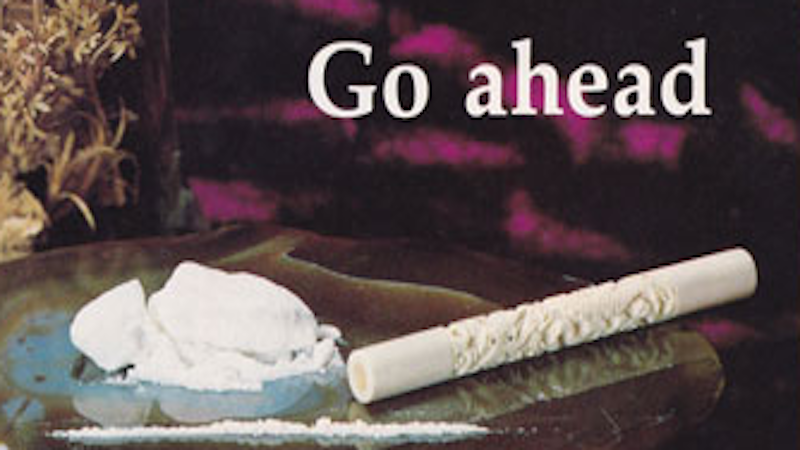 These vintage cocaine paraphernalia ads will blow you away.