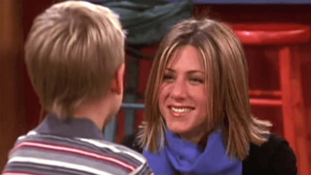 Cole Sprouse had a really hard time working with Jennifer Aniston on 'Friends.'