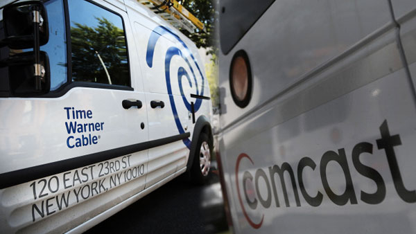Comcast and Time-Warner will probably have to make your life miserable as two separate companies.