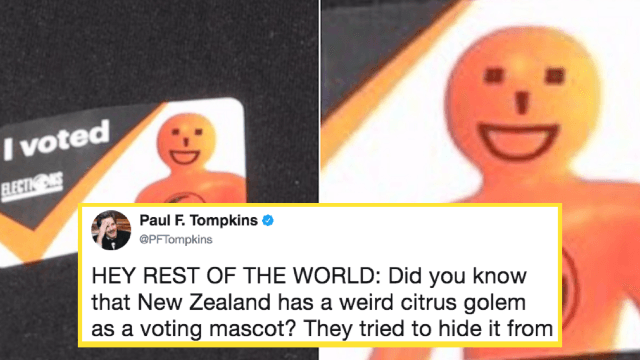 American comedian mocks New Zealand's 'weird' mascot. He gets gloriously owned.