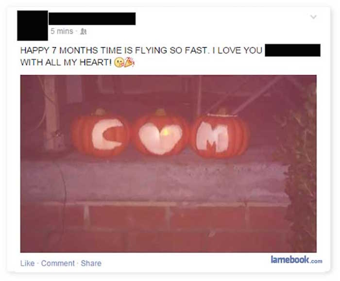 11 instances of Halloween gone horribly wrong on Facebook.