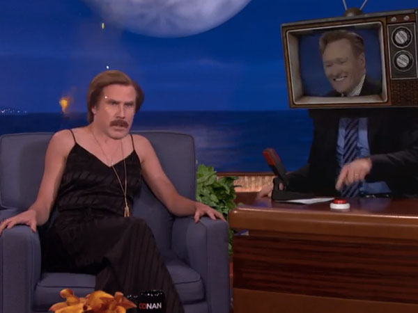 Conan O'Brien just outdid himself on the weirdness scale with this remix of his own show.