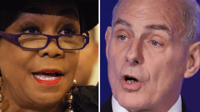 Congresswoman Frederica Wilson fires back at John Kelly for lying and calling her a racist term.