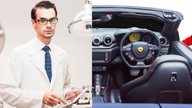 Conservative asks, 'Do you really want a doctor who can't afford a Ferrari?' Twitter destroys him.