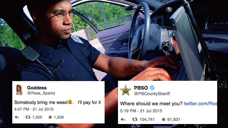 The 8 most obnoxious cops to ever get social media accounts.