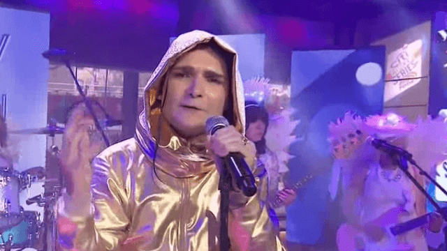 Corey Feldman returned to 'Today' to perform an anti-bullying song.