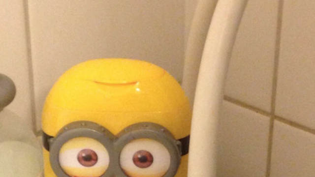 """Could this photo mean there is going to be a """"Minions"""" horror film?"""