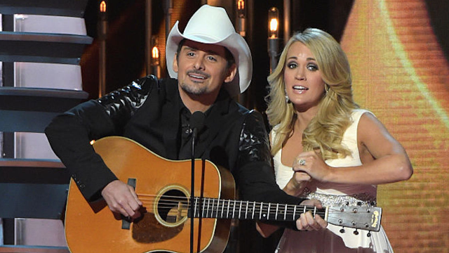 The Country Music Awards shocked everyone with a funny Trump-mocking monologue.